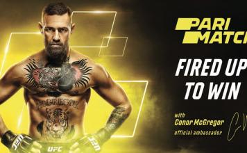 Parimatch, MMA, Conor McGregor, ICE