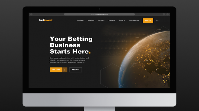 Betinvest new website launch B2B B2C