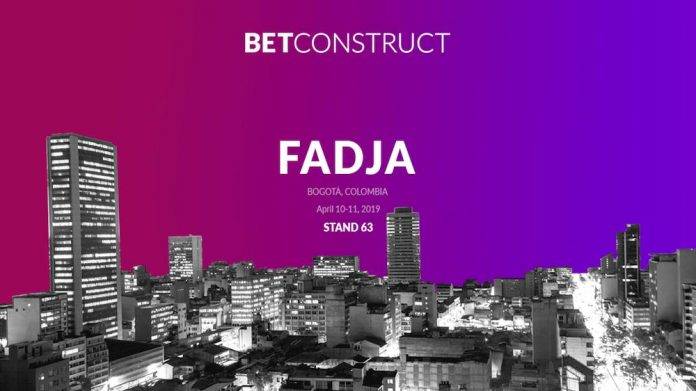 BetConstruct, igaming, FADJA 2019, new products, latam, colombia