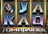 Microgaming, Lara Croft slot, celebrate, branding,