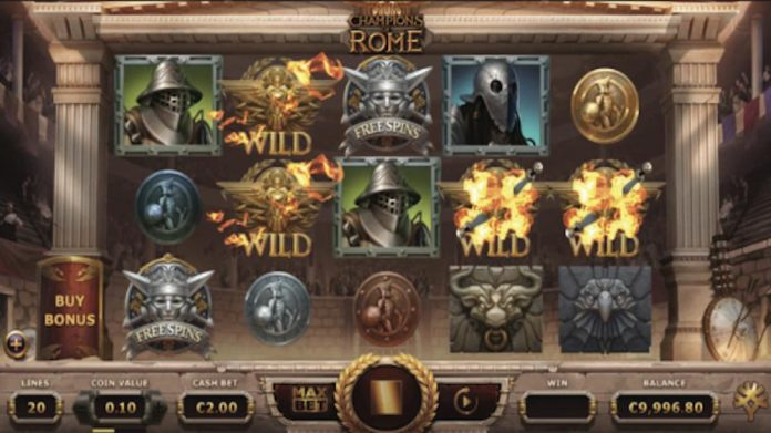 Yggdrasil, new releases, slots, Champions of Rome