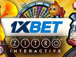 Zitro online games available 1xbet.com