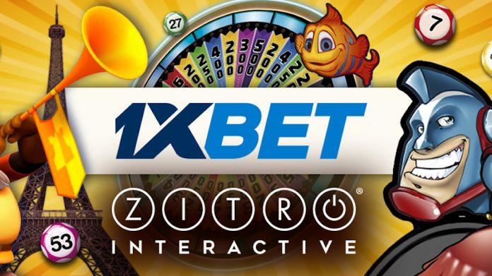 Zitro online games available 1xbet.com