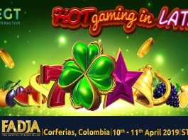 EGT Interactive, gaming experience, FADJA, Colombia 2019