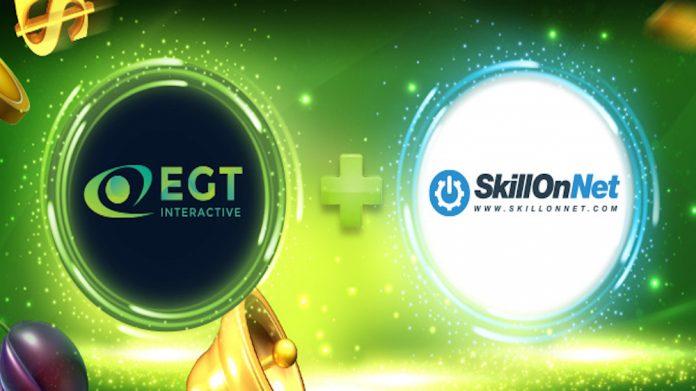 EGT Interactive content live SkillOnNet