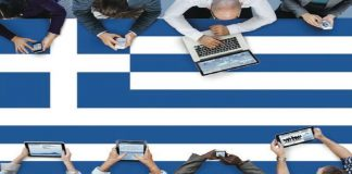 Greece, online market, dominates, land-based, revenue, growth