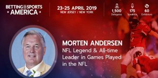 NFL, Great Dane, Better Collective, ambassador, Morten Andersen, Betting on Sports America