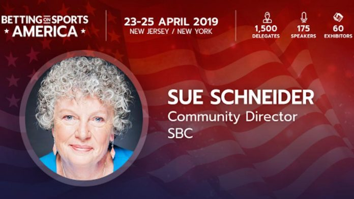 SBC, Sports Betting Community, Sue Schneider, appointment ,Community Director