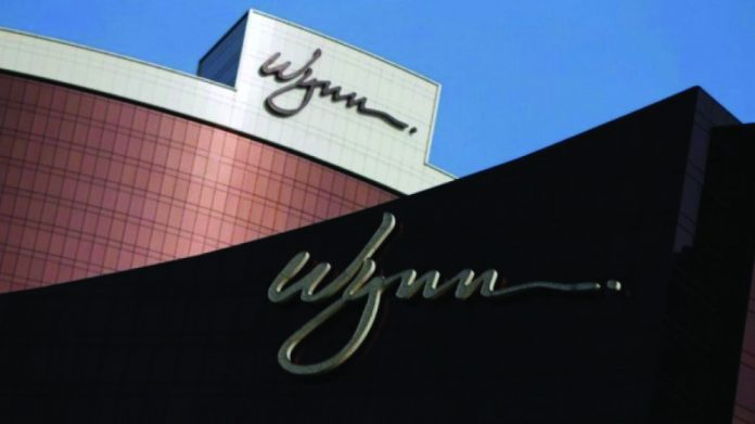 Wynn Resorts Scientific Games Sports Betting partnership