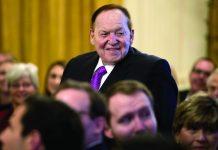 NJ Sues Justice lawsuit Sheldon Adelson