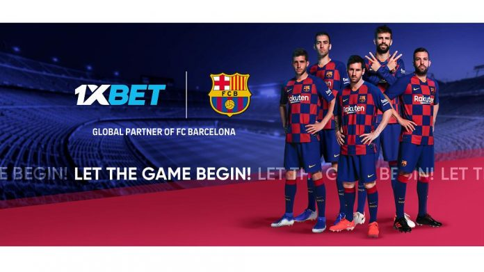 FC BARCELONA ADDS 1XBET AS A NEW GLOBAL PARTNER 1