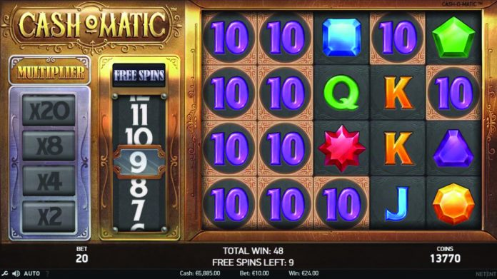 NetEnt Cash-O-Matic slot