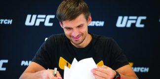 Sergey Portnov CEO Parimatch signing UFC