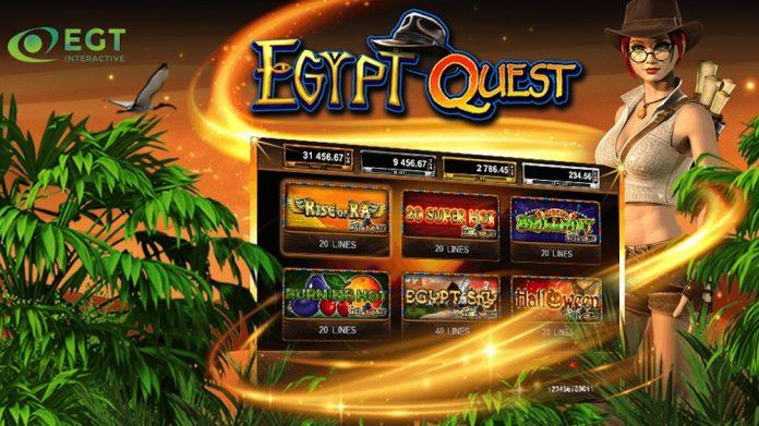 EGT Interactive Europe Egypt Quest