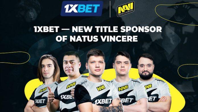 1xBet Natus Vincere eSports partnership