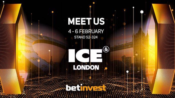 ICE London Betinvest slot online games