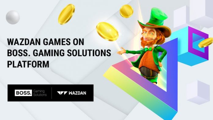 BOSS. Gaming Solutions Wazdan