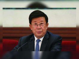 China Minister of Public Security, Zhao Kezhi