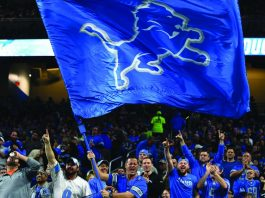 Michigan Lion retail betting sportsbook