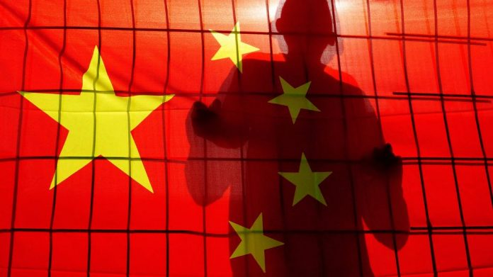 China hit online gaming operators flag