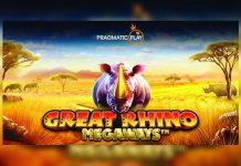Pragmatic Play Big Time Gaming collaboration Megaways Great Rhino