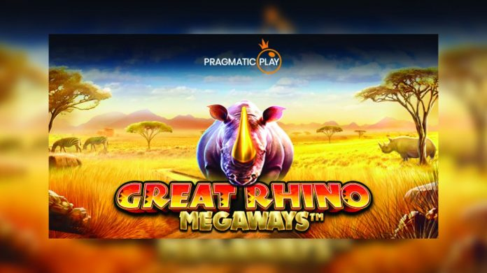 Pragmatic Play Big Time Gaming collaboration Megaways Great Rhino