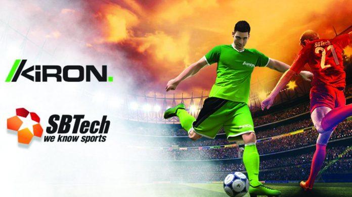Kiron BetMan SBTech partnership virtual