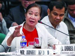 Philippines regulator gambling sector Andrea Domingo