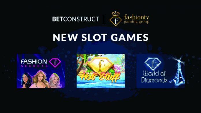 BetConstruct FashionTV Gaming Group Partnership