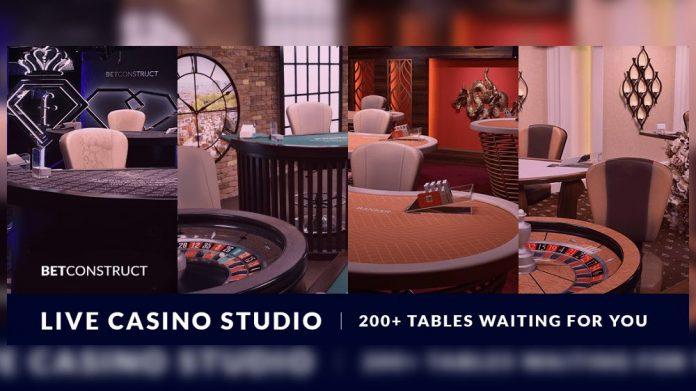 BetConstruct live casino
