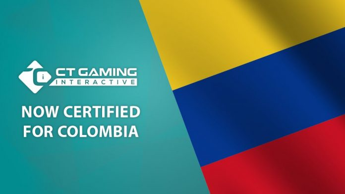 CT Gaming Interactive Colombia certification