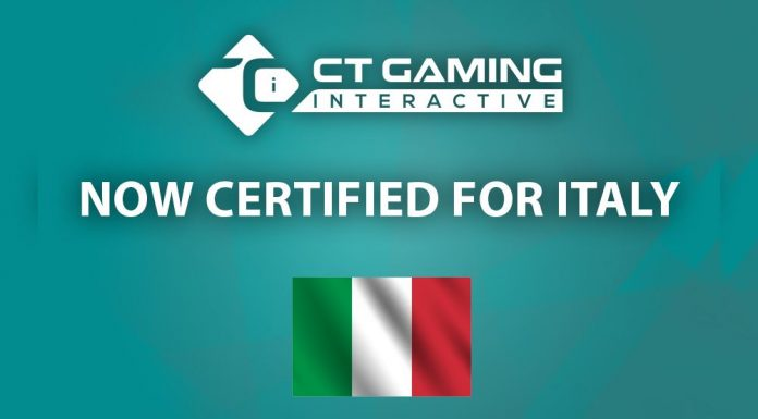 CT Gaming Interactive Italian market certified