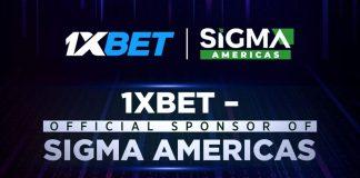 1xBet SiGMA Americas sponsor