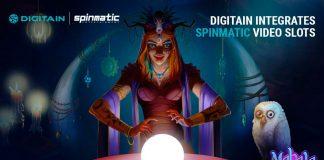Digitain integrates Spinmatic video slots