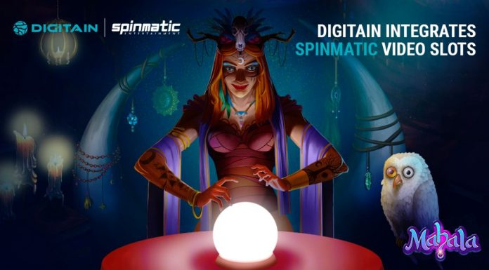 Digitain integrates Spinmatic video slots