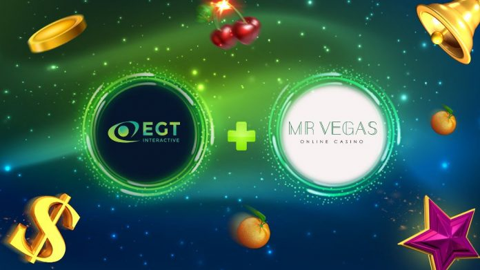 EGT Interactive Videoslots partnership extended MrVegas Casino