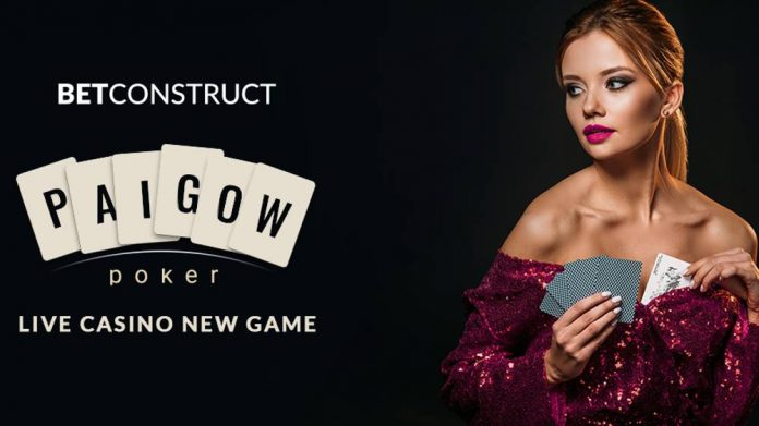 BetConstruct Live Game Pai Gow Poker
