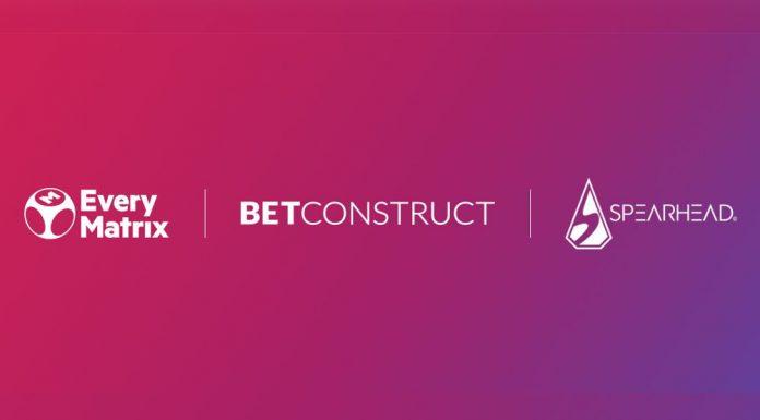 EveryMatrix BetConstruct Spearhead Studios