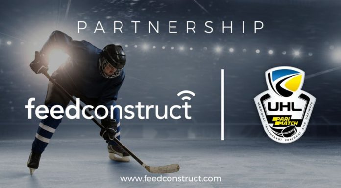 FeedConstruct Ukrainian Hockey League partnership