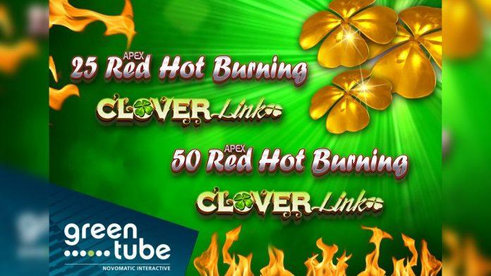 Greentube Red Hot Burning Clover