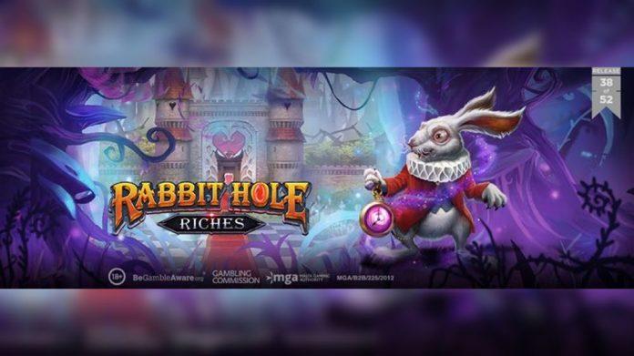 Play'n GO slot Rabbit Hole Riches