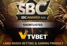 TVBET SBC Awards 2020