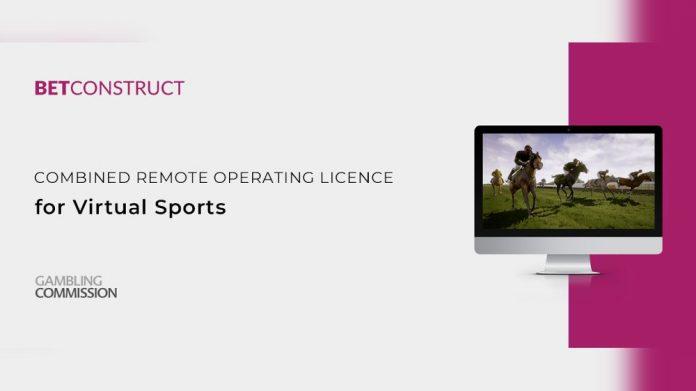 UKGC approves BetConstruct Virtual Sports Software