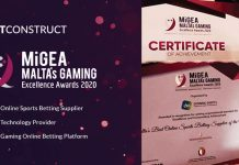 BetConstruct MiGEA 2020 awards