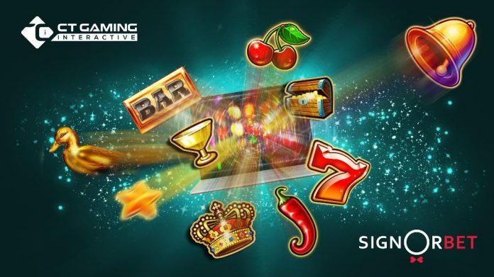 CT Gaming Interactive Signorbet partnership