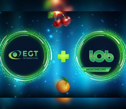 EGT Interactive Lobbet Montenegro partnership