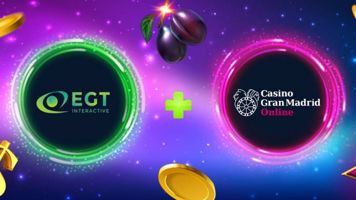 EGT Interactive partnership Casino Gran Madrid Online
