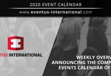 Eventus International 2021 events announced