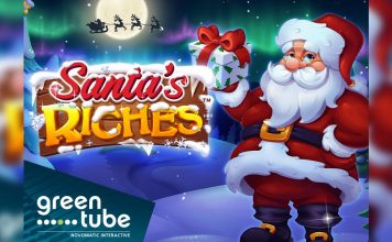 Greentube New Release Santa's Riches