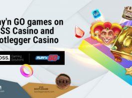 BOSS. Gaming PlaynGO collaboration